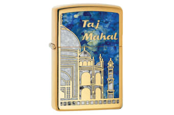 Zippo Taj Mahal 29246 Genuine Polish Brass Fusion Finish Cigar Cigarette Lighter