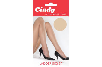 Cindy Womens/Ladies Ladder Resist Tights (1 Pair) (Bamboo)