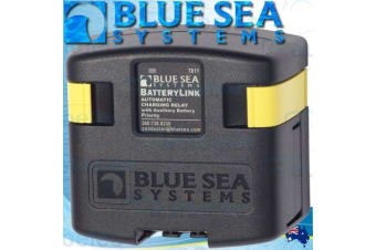 BLUE SEA 7611B VOLTAGE SENSITIVE RELAY 12V VSR ACR LVD 120A DUAL BATTERY SYSTEM