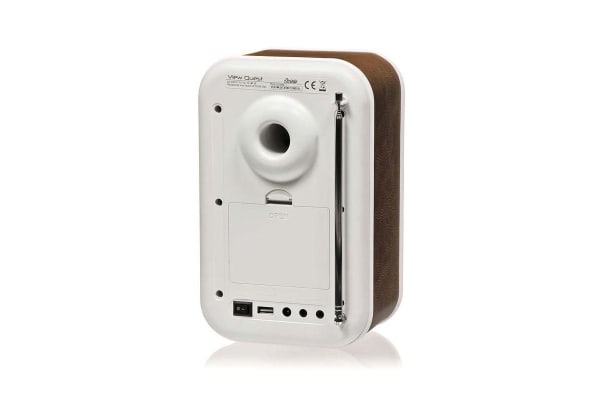 View Quest Christie DAB+ Radio & Speaker - Brown (CHRISTIE-BR)