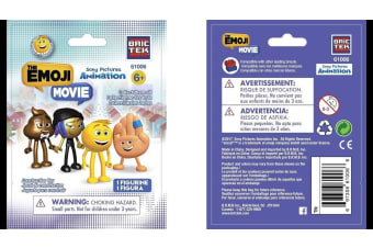 BRICTEK TOY BRICTEK EMOJI MOVIE CHARACTERS S1 PK48 ( EACH )