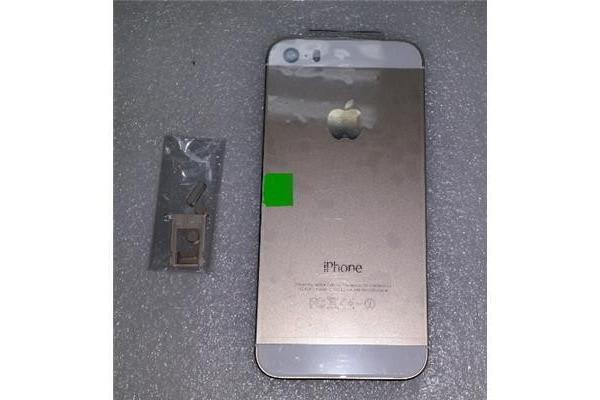 iphone 5S Middle Frame+Back Cover assembly Gold (Parts Only)