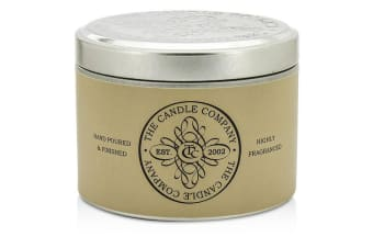 The Candle Company Tin Can Highly Fragranced Candle - Stone Washed Driftwood (8x5) cm