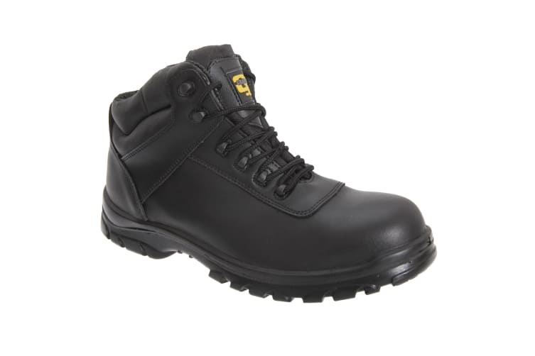 Grafters Mens Fully Composite Non-Metal Safety Hiker Type Boots (Black) (42 EUR)