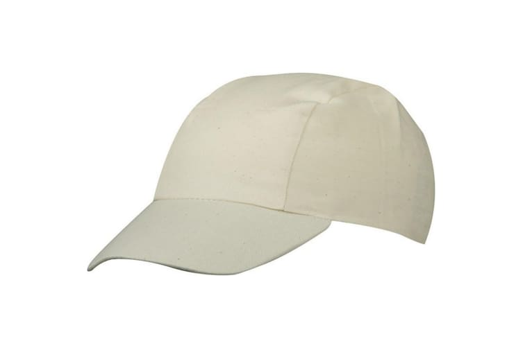 Myrtle Beach Adults Unisex 3 Panel Promo Cap (Natural) (One Size)