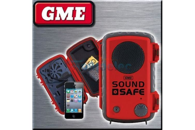 GME WATERPROOF PROTECTION DRY CASE COVER MARINE FOR IPHONE IPOD MP3 PLAYER RED