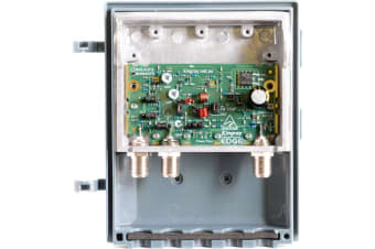 Kingray 43DB UHF VHF shielded masthead amplifier