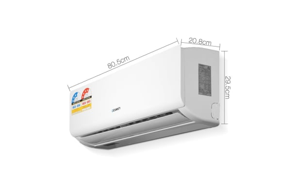 Devanti 4-in-1 2.5kW Split System Inverter Air Conditioner