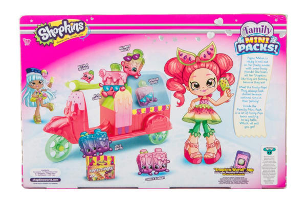 Shopkins Shoppies Frosty Scooter S8