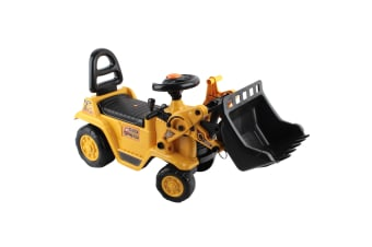 Kids Ride On Bulldozer (Yellow)