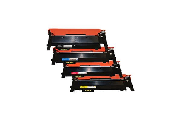 CLT-406 Series Premium Generic Colour Toner Set