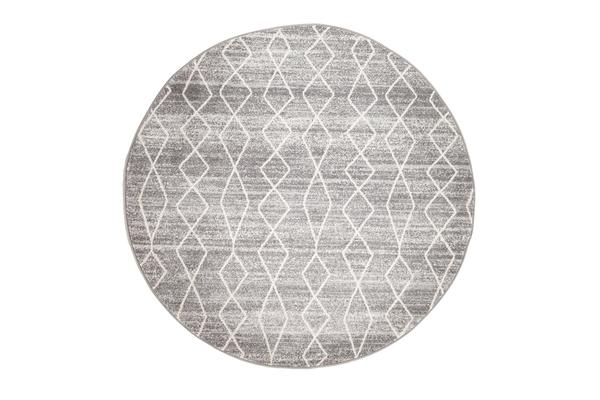 Remy Silver Transitional Rug 240x240cm
