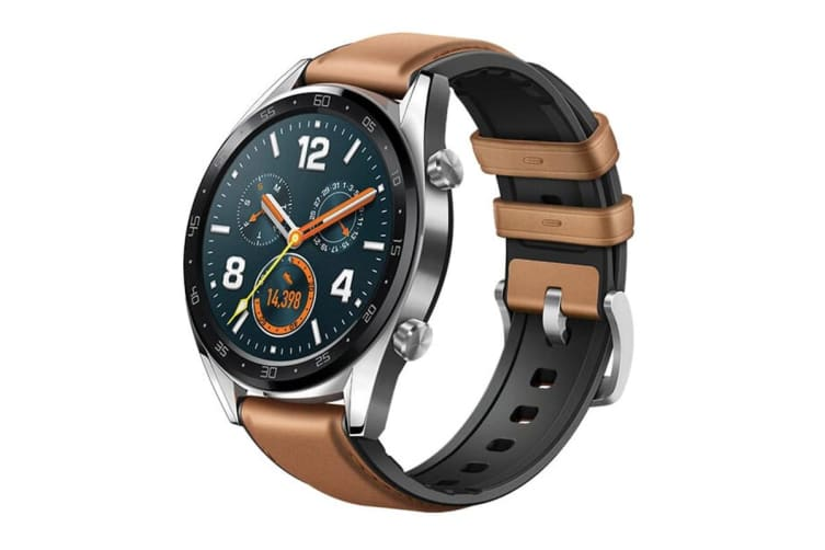 Huawei Watch GT Stainless Steel - Saddle Brown