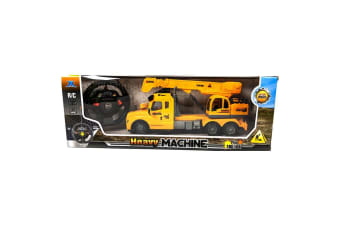 Remote Control Crane Truck with Lights