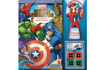 Marvel Movie Theatre - Storybook and Projector