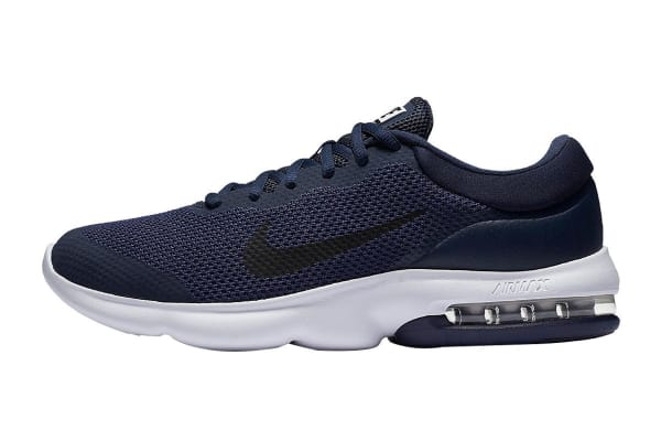 Nike Men's Air Max Advantage Shoes (Midnight Navy/Obsidian/White, Size 10.5)