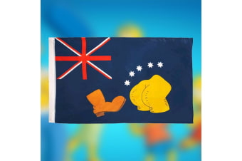 The Simpsons Boot & Bum Australian Flag | Bart vs Australia