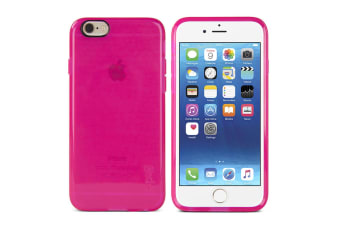 Gecko Flexible Pink Glow In The Dark Case For iPhone 6 & iPhone 6S