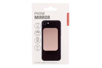 Kikkerland Adhesive Phone Mirror - Rose