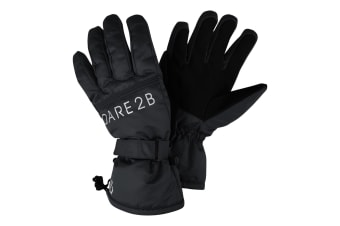 Dare 2B Mens Worthy Ski Gloves (Black) (XL)