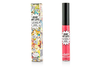 TheBalm Read My Lips (Lip Gloss Infused With Ginseng) - #Pow! 6.5ml/0.219oz