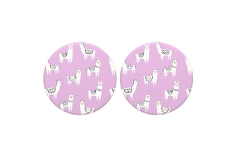 2PK PopSockets Lotsa Llama Swappable Top for Pop Socket Base Grip/Stand PopGrip