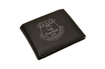 Everton FC Embroidered Wallet (Black)