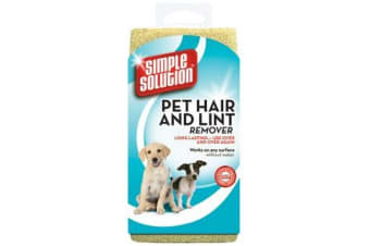 Simple Solution Pet Hair And Lint Remover (Biege) (One Size)