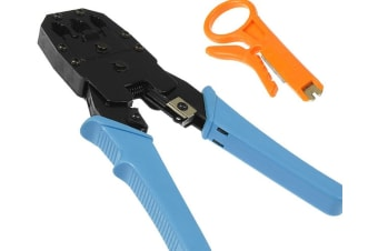 3in1 Modular Crimper Crimping LAN with Cable Stripper Tool
