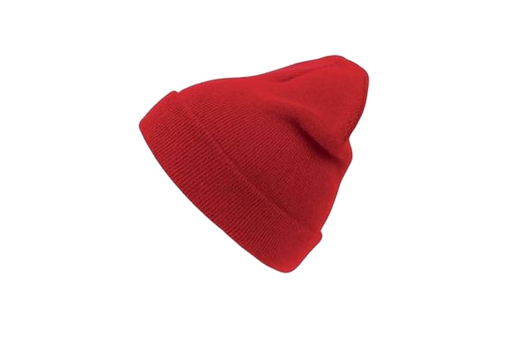 Atlantis Wind Double Skin Beanie With Turn Up (Off Red) (One Size)