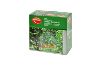 Ambassador Window Bird Feeder (Clear)
