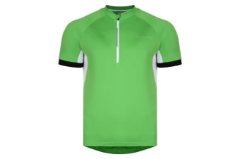 Dare 2B Mens Countdown Short Sleeve Cycle Jersey (Fairway Green)