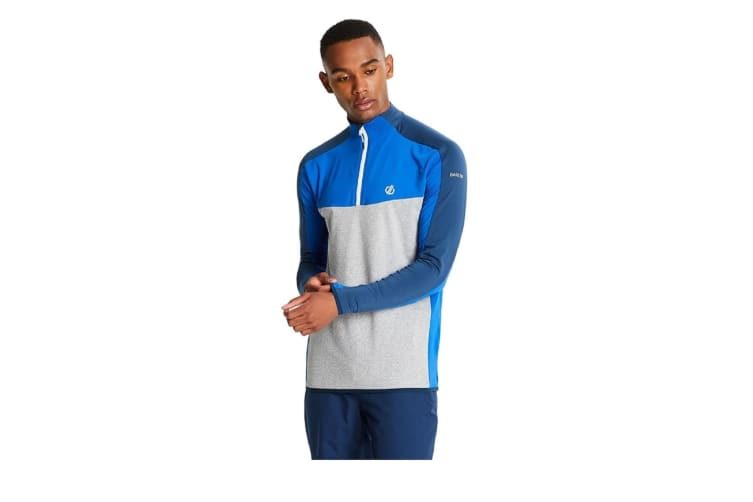 Dare 2B Mens Depose Stretch Midlayer (Admiral Blue/Ash) (XS)