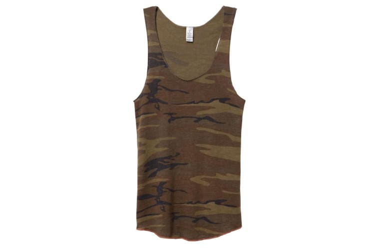 Alternative Apparel Womens/Ladies Eco-Jersey Sleeveless Tank Top (Camo) (XL)