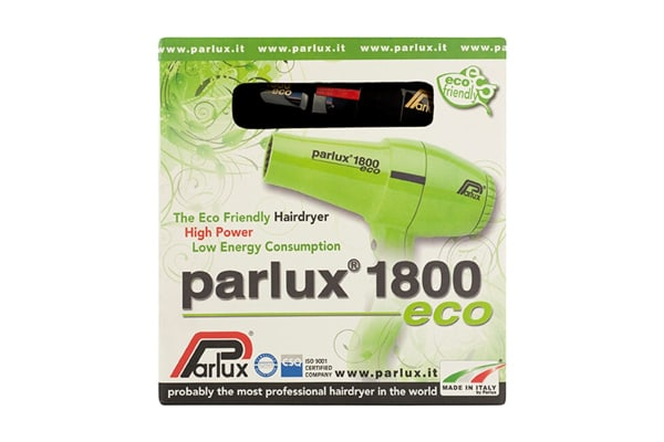 Parlux 1800 Eco 1280W Hair Dryer - Black (150011)