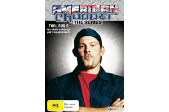 American Chopper Collection 9 (3-Disc Set) - Series Region 4 DVD NEW