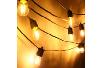 18M Festoon LED String Light (Oval Globe)
