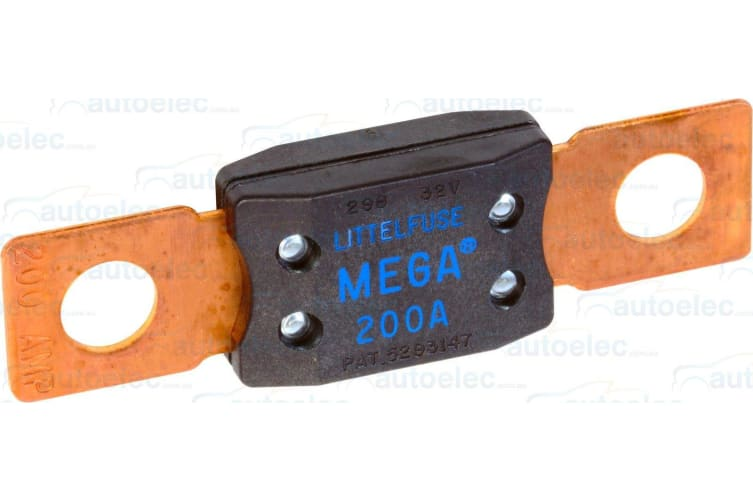 MEGA FUSE 200A 200 AMP x 1  DUAL BATTERY SYSTEM BOAT FRIDGE CAR NEW REPLACEMENT