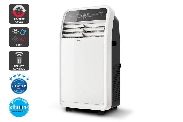 Kogan 4.1kW Portable Air Conditioner (14,000 BTU, Reverse Cycle)