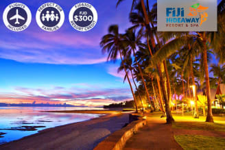 FIJI: 6 Nights at the Fiji Hideaway Resort & Spa Including Flights for Two (SYD)