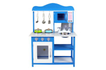 Kids Play Toy Wooden Kitchen Set (Ocean Blue) - User Manual