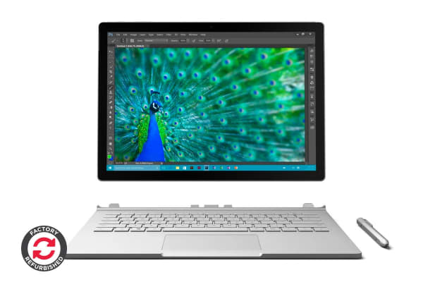 Microsoft Surface Book (512GB, i7, 16GB RAM, Nvidia dGPU) - Certified Refurbished
