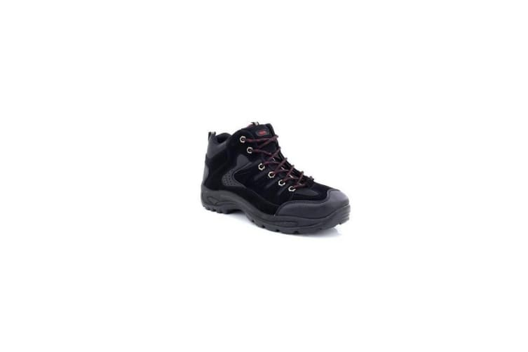 Dek Mens Ontario Lace-Up Hiking Trail Boots (Black) (10 UK)