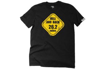 Personal Best Running Tee - Hell And 26 Miles Mens T-Shirt