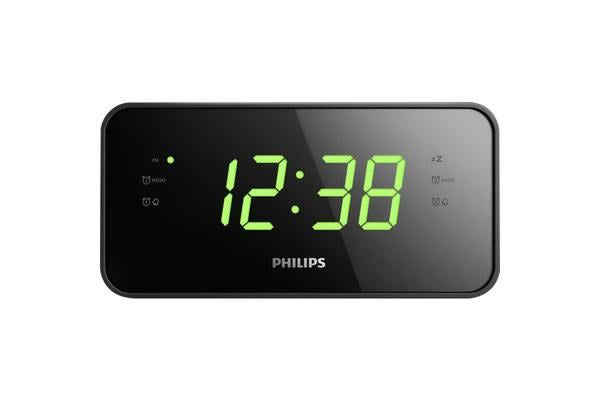 Philips Large Display Clock Radio