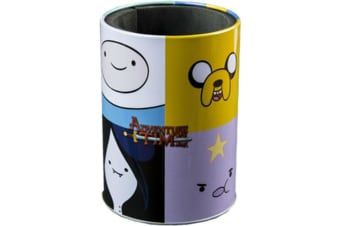 Adventure Time Faces Metal Can Cooler