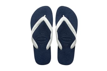 Havaianas Color Mix Thongs (Navy Blue/White, Size 43/44 BR)