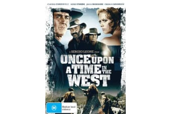 Once Upon a Time in the West DVD Region 4