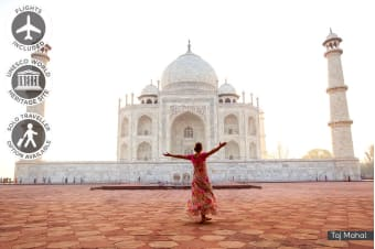 INDIA: 10 Day Magical India Tour Including Flights For One or Two