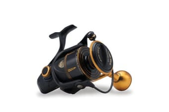 Penn Slammer 3 8500HS High Speed Spinning Fishing Reel - 8 Ball Bearing Spin Reel